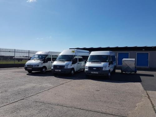 Fleet with trailer